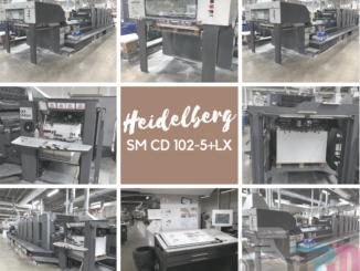 Heidelberg SM CD 102-5+LX
