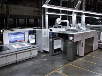 2015 Komori GL540+CX with H-UV