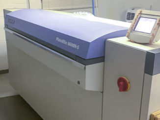 Fuji Javelin N8600S thermal CTP system