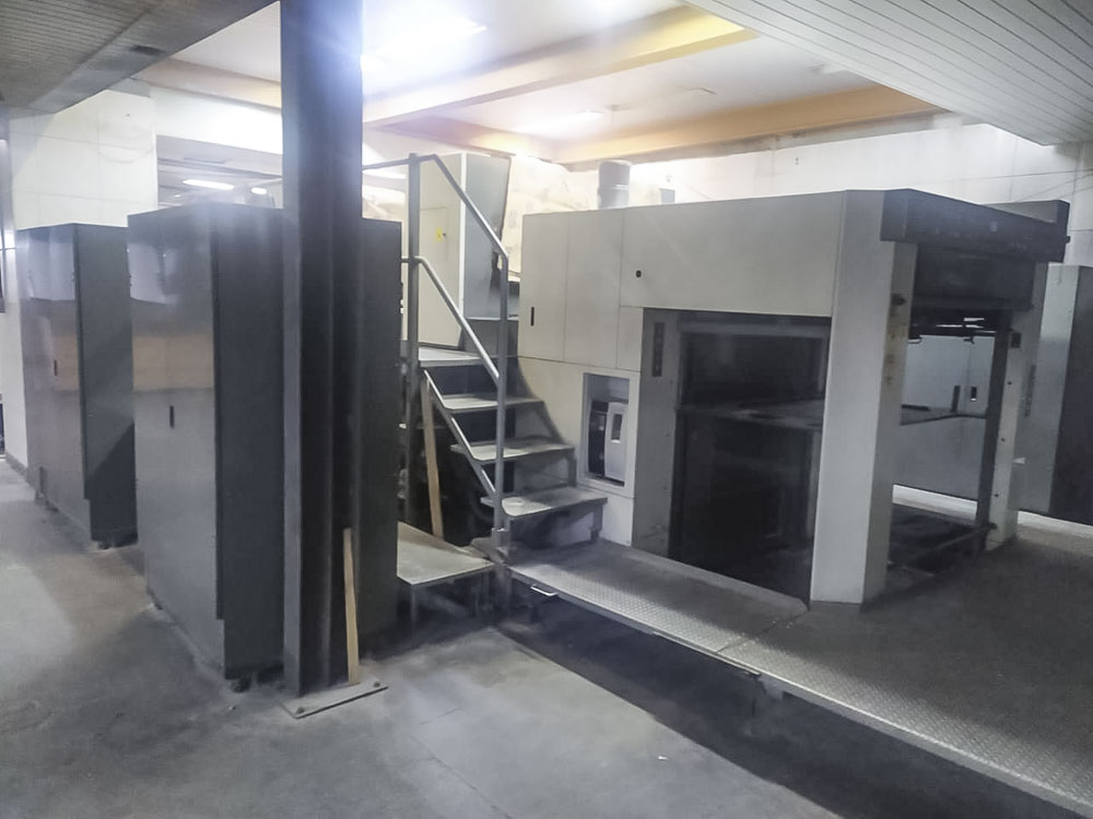 2010 Komori LS240P press for sale