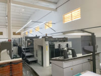 2010 Komori LS840P+CX press for sale