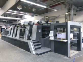 2018 Heidelberg XL106-5P+LX printing press for sale