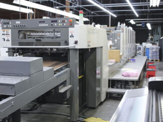 2006 Komori LS629+CX printing press for sale