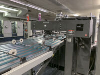 2007 Komori LS840P with Magnum Sheeter