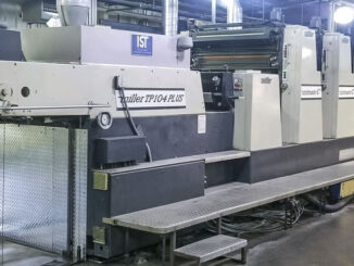 Miller TP104-8+L Plus for sale Trinity Printing Machinery