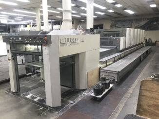 2005 Komori LS640-CX For Sale Trinity Printing Machinery