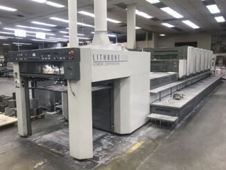2007 Komori LS640+CX For Sale Trinity Printing Machinery